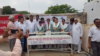 DONATION OF WASHING STATIONS AT 8 GOVT SCHOOLS OF REWARI UNDER WINS INITIATIVE