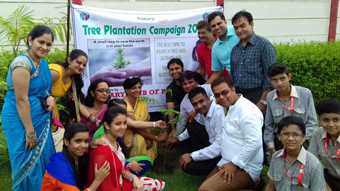 TREE PLANTATION AND PAINTING COMPETITON AT GLH PUBLIC SCHOOL, REWARI