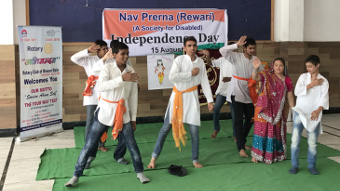 INDEPENDENCE DAY CELEBRATION WITH NAV PRERNA SOCIETY