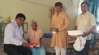 DEEPAWALI CELEBRATION WITH RESIDENTS OF OLD AGE HOME
