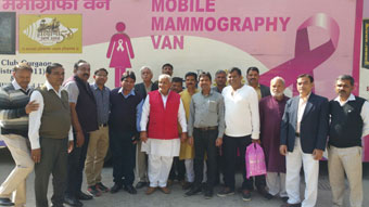 1st Mammography camp for awareness