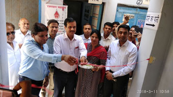 Inauguration of Water Filteration& Cooling Unit (80 ltr Storage & Cooling Capacity) installed by Rotary Club Of Rewari Main