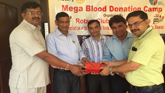 Mega Blood Donation Camp at Vill. Kapriwas, Rewari