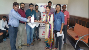 Rotary club of Rewari Main has organized 3rd blood donation camp at Adani Power Ltd, Kanina.