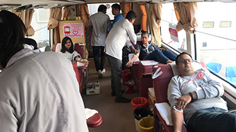 BLOOD DONATION CAMP AT MAGNETI MARELLI GROUP OF COMPANIES