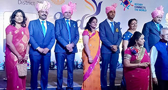 """UDAAN"" INSTALLATION OF RTN. SURESH BHASIN AS DG DISTT. 3011"