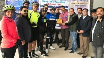 Cyclothon for a Cause (Diabetes Free India)