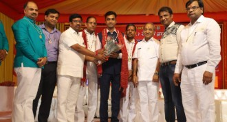 Club President Rtn. Arun Gupta honoured by Aggarwal Sabha Rewari